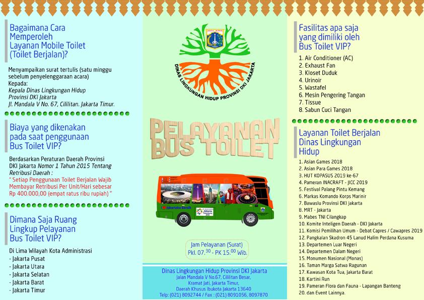 Bagan Organisasi UPST Dinas Lingkungan Hidup DKI Jakarta